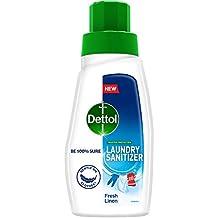Dettol After Detergent Wash LiquidLaundrySanitizer, Fresh Linen - 480ml