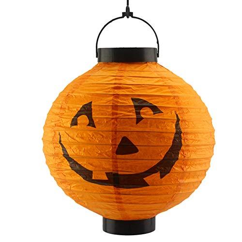 Verschiedene Halloween-Dekorationen LED Kürbisse Laterne Jack Skeletons Spinnen Fledermäuse Haunted Garden Home Yard Party Requisiten Geschenk Für Kinder(zwei Packungen)