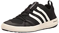 adidas Outdoor Mens Terrex Climacool Boat Water Shoe, Black/Chalk White/Black, 8. 5 M US