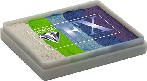 Diamond FX 50g Split Cake Face Paint ~ Funkey Frog (RS50-81) by Diamond FX Split Cakes