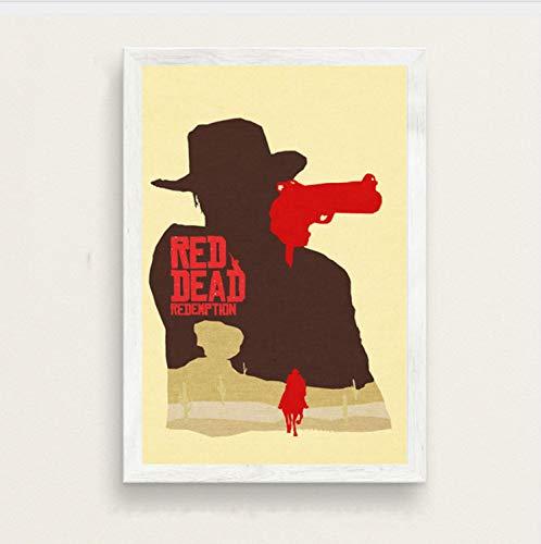 Haoxinbaihuo Red Dead Redemption Hot Video Game Art