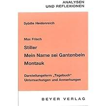 Die Kierkegaard-Rezeption in Max Frischs Mein Name sei Gantenbein (German Edition)
