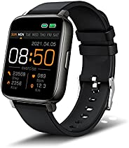 Smartwatch, 1,69'' TFT Orologio Fitness Tracker Uomo Donna Smart Watch Sonno Cardiofrequenzimetro, IP6