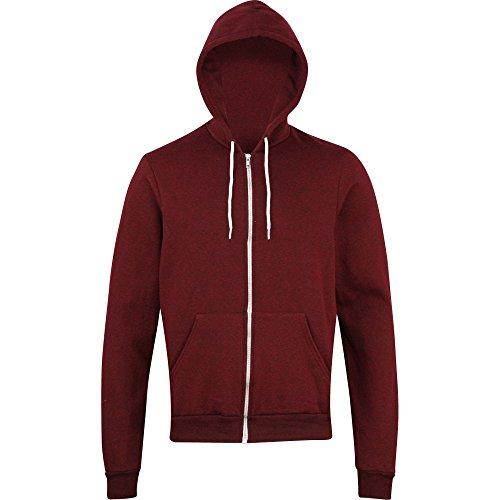 american-apparel-mens-salt-and-pepper-unisex-polycotton-zip-hoodie