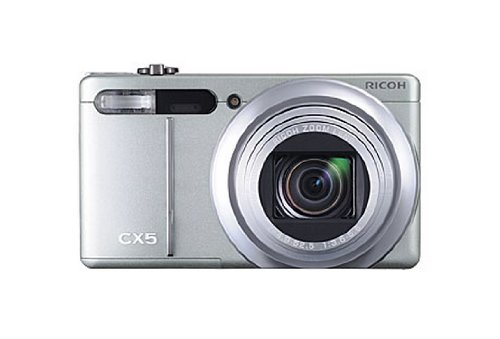 Ricoh CX5 ( 10.6 Megapixel,11 -x opt. Zoom (3 Zoll Display) )