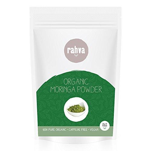 Polvere Di Moringa 100% Bio - Certificato biologico Moringa Oleifera Foglia - Vegano Superfood - 200g