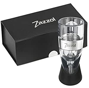#1 Wine Aerator Decanter - Must Have Wine Accessories Gift Set - Your Wine Will Taste Significantly Better In Seconds! - Best Christmas and Holiday Gifts for Women and Men!