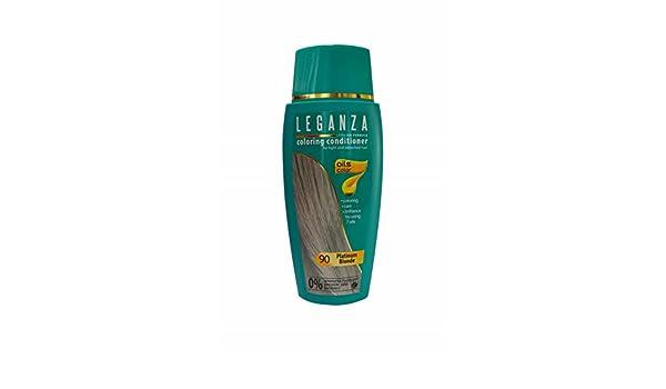 Leganza Färbender Conditioner Farbe 90 Platinblond Mit 7 natürlichen ...