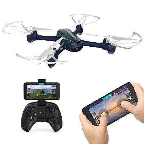 Hubsan X4 H216A DESIRE PRO Quadrocopter Drohne mit HD Kamera Fernbedienung Quadrocopter Wifi APP Steuerung Headless Modus GPS Follow Me (Drohnen Mit Video-kamera Und Gps)