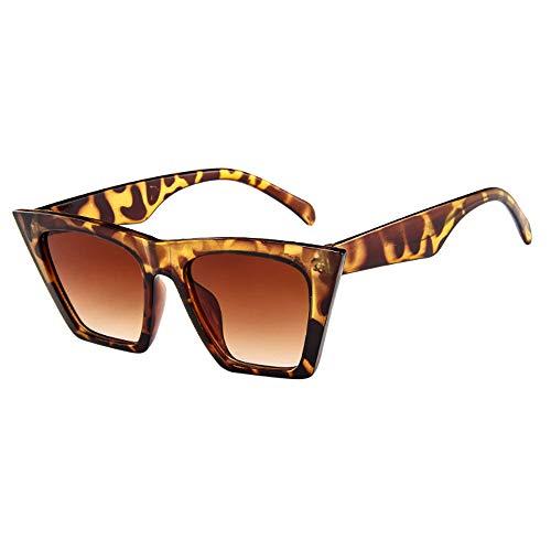 MDenker Damen Original Hochwertige Sonnenbrille matte Rubber Retro Vintage Brille mit Federscharnier Mode Frauen übergroße Sonnenbrille Vintage Retro Cat Eye Sonnenbrille (Beige)
