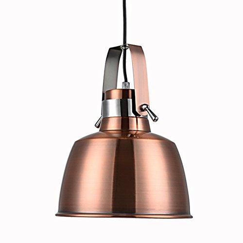 AOKARLIA Premium Industriell Pendelleuchte Beleuchtung, Modern Hängeleuchten/Kreativ Metall Droplight/Haushaltsleuchten - E27,M (Base Medium 11w)