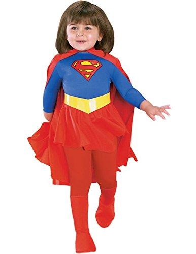 Deluxe Supergirl - Kinder-Kostüm - Klein - -