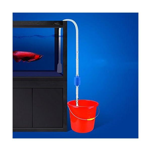 Practical Vacuum Water Change Gravel Cleaner Siphon Pump Aquarium Cleaning Tool