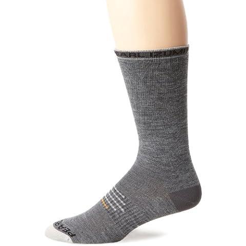 Pearl Izumi Elite - Calzettoni in lana, grigio (Grigio Shadow Grey), S