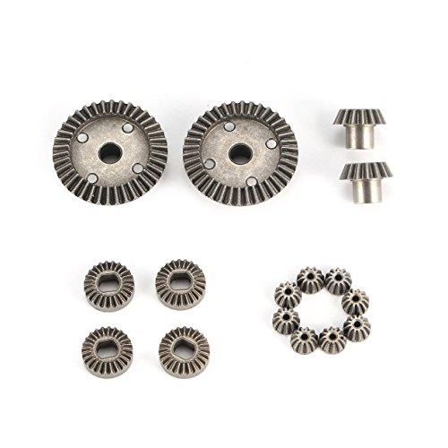 12T 15T 24T 38T Metall Vorne Hinten Differential/Motor Fahrwerk Upgrade Teile Zwei Sätze für WLtoys A949 A959 1/18 RC Car
