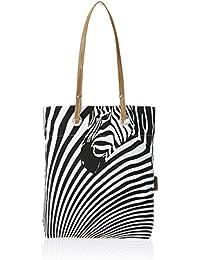 Kanvas Katha Women's Tote Bag (White) (KKST003W)