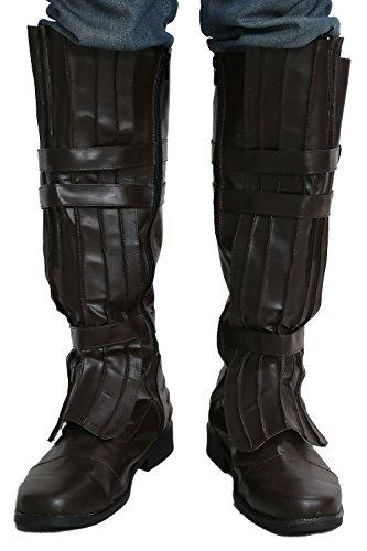Ana Walker kin Stiefel Boots Leder Braun Cosplay Kostüm Schuhe Zubehör Shoes Accessories 42