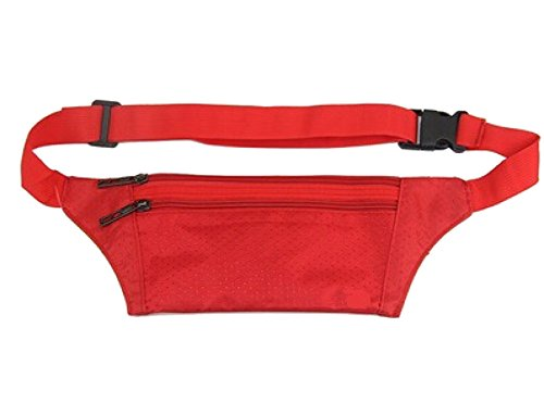 Multifunktionale Outdoor Fitness Sporttaschen Mehrfarbig Red