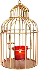 giftwallas t-light cage holder for candle light, home decor