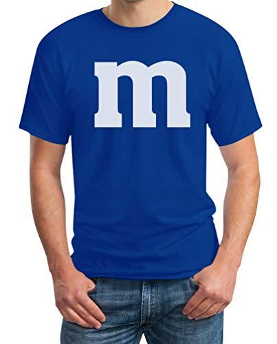 Kostüm Für Ideen Paare Passende - Süßes M Outfit Herren Karneval Fasching Gruppen-Kostüme T-Shirt XXX-Large Blau