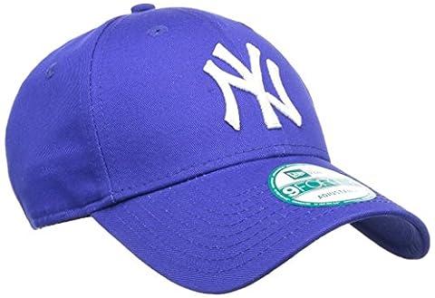 New Era Cap 9Forty League Basic New York Yankees, Royal/White, One size, 11157579