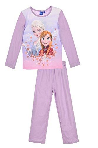 Preisvergleich Produktbild Frozen Mädchen Schlafanzug Gr. 4 Jahre, Violett
