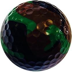 GBM Golf Miscellaneous Novelty 2 Ball Tube, Camo