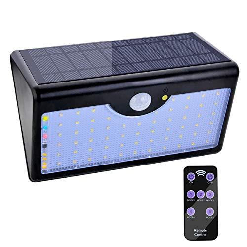 Lámpara Solar 60 LED Luz Solar 1300 LM Focos Solares