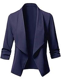 Veste bleu marine femme amazon