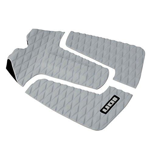 ION Footpad Deck Grip 3-tlg Grau Surfboard Wellenreiter Kiteboard