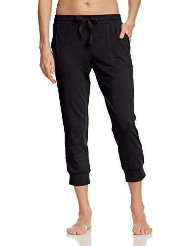 Marc O'Polo Body & Beach - Pants, Pantalone da donna nero(Schwarz (blauschwarz 001))