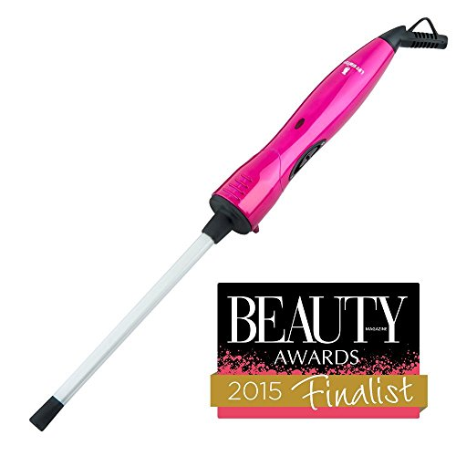 Lee Stafford The Original CHoPstick STYLER Ceramic Curling Wand - Get Cute Corkscrew Curls Straight From the Catwalk with This Professional Quality Clipless Curling Iron
