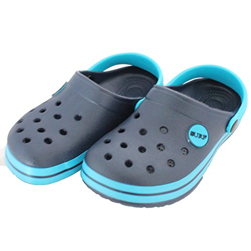 Enfants / Nourrisson IAM Surf Garçons Filles Unisexe Plage Sabots Sandales Mules Chaussures À Enfiler Bleu Marine