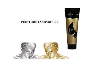 Peinture creme Corporelle OR maquillage corps et visage - 30 ml