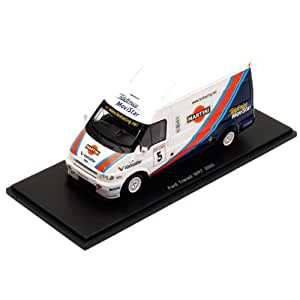 Spark - S0284 - Véhicule Miniature - Ford Transit - Wrt Martini - Echelle 1/43