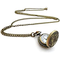 Gallifreyan Necklace - Doctor Who - Watch