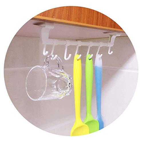 CHUNXU Toilettenpapier Bad Küche Kunststoff Gesicht Handtuchhalter Tür Haken Küche Zubehör Teppiche Haken, einfarbig, Einheitsgröße
