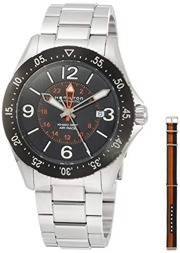 Hamilton Khaki Aviation Pilot GMT H76755131 - Reloj automático para Hombre