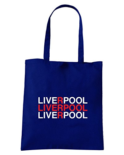 T-Shirtshock - Borsa Shopping WC0468 LIVERPOOL Blu Navy