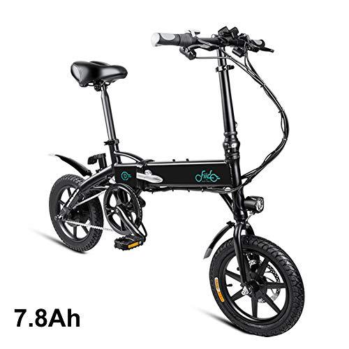 Aemiy 1 Stücke Elektrische Faltrad Faltbare Fahrrad Safe Einstellbare Tragbare für Radfahren