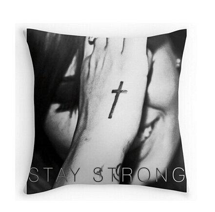 shengpeng Demi Lovato Stay Strong Pillowcases Custom 18