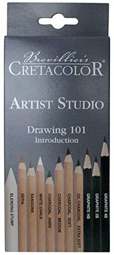 Cretacolor–k464.11–Set 11Bleistifte–Bunststifte