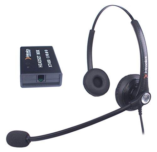 Auriculares Teléfono Fijo Dual...