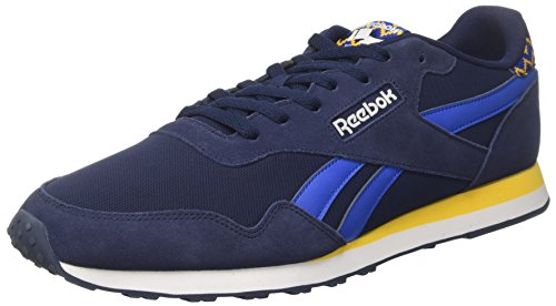 Reebok Bd3598, Sneakers trail-running homme Bleu (Navy/blue/yellow/white)
