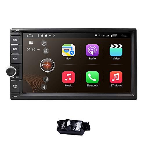 Universal 2Din coche Auto Radio GPS navegación hizpo 7 Pulgadas pantalla táctil...