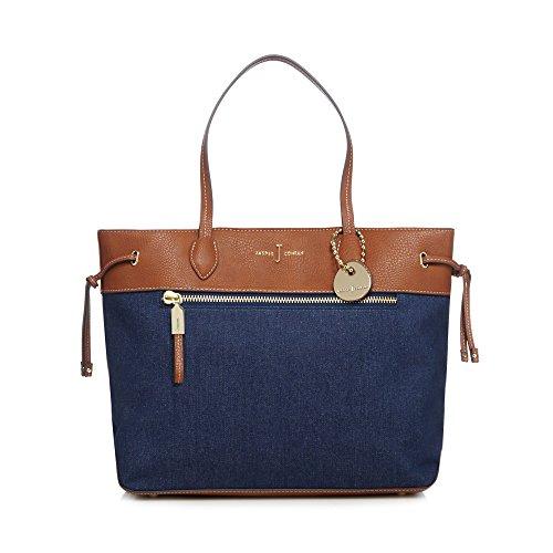 j-by-jasper-conran-womens-blue-denim-shopper-bag