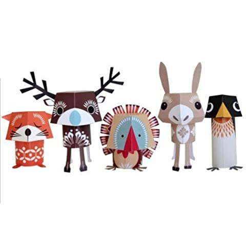 Festive Friends Paper Animals