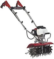 Wonderland Mantis XP Extra-Wide Tiller Cultivator 7990 Powered by Honda with Sure-Grip Handles (Red, WNG7990)