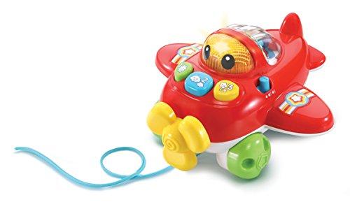 VTech Baby-CAPI der Flugzeug, Flugzeug Baby mit über 70Melodien, Songs und Stimmen, lehrt Zahlen und Farben, kognitive und trägt zur Entwicklung der Motorik (3480-508822)