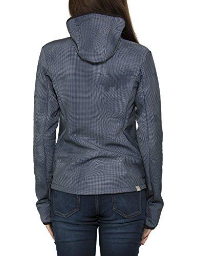Bench Damen Jacke Competence F Blau (Total Eclipse NY031)